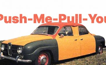 Push-Me-Pull-You Saab-96