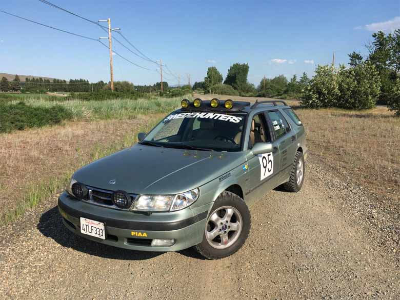 Rally Saab 9-5