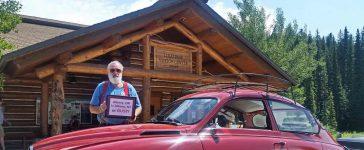 Ray Kopczynski and his Saab 96