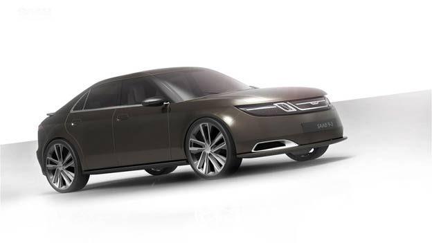 Redesigned Saab 9-3