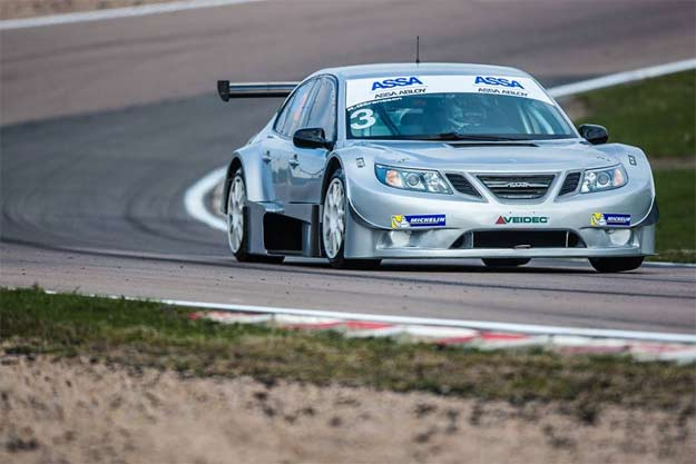 Richard Göransson fastest on final Knutstorp test day
