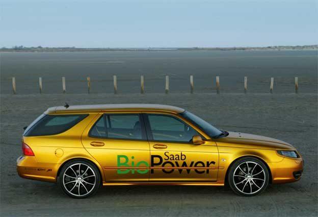 Rinspeed Saab 9-5 BioPower Concept '2007