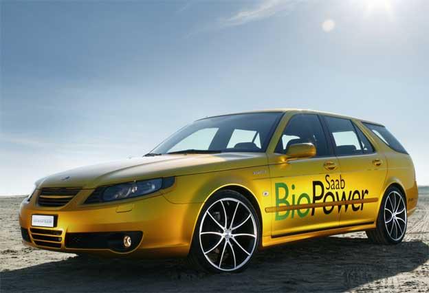 Rinspeed Saab 9-5 BioPower Concept