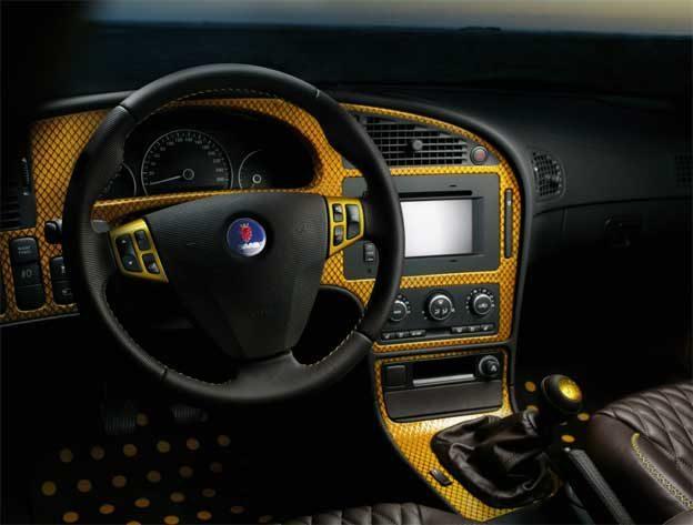 Rinspeed Saab 9-5 Interior