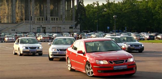 Russian Saab Performance Team