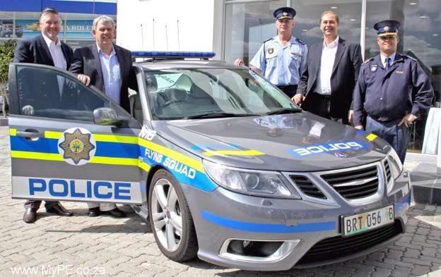 SAAB 9-3 v6 Aerp Police