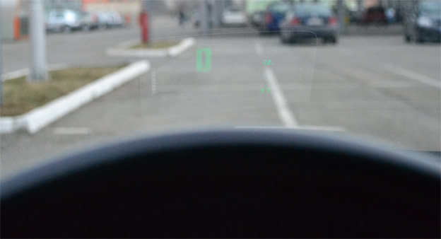 How to Make a free Head-up display for Your Saab!