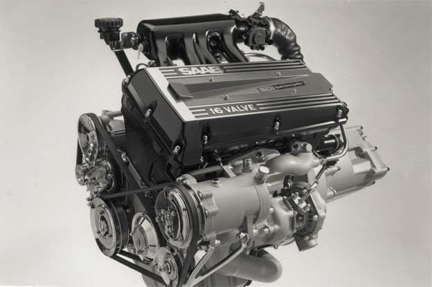 Saab SDI Turbo 16 engine