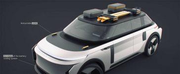 SAAB e900X Electric SUV