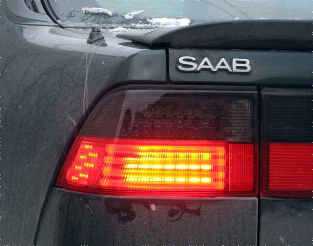 SAAB 9000 LED tail lights