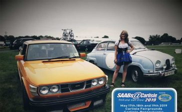 Saabs@Carlisle Event 2019