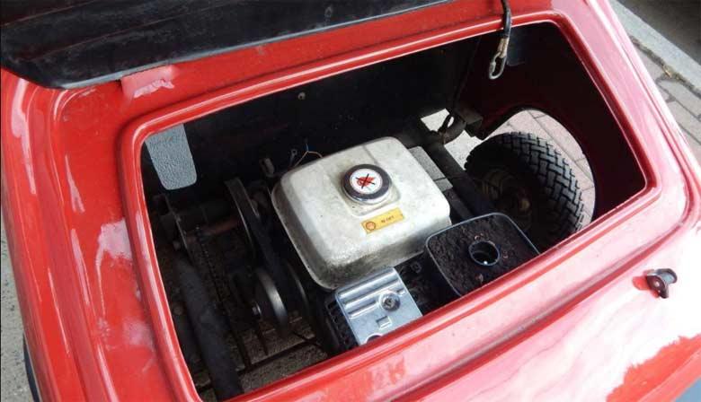 Mini Honda engine in Saab 006