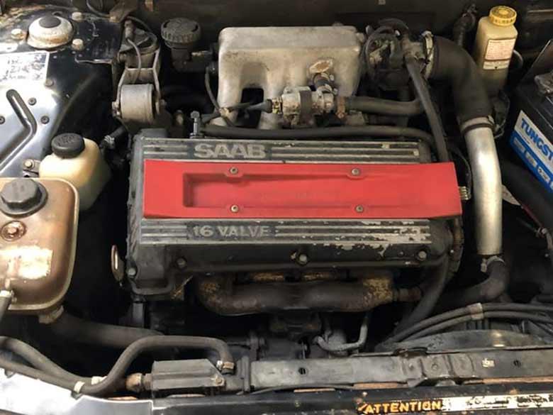 Saab 16 valve 900 engine