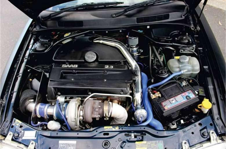 Saab 2.3 engine