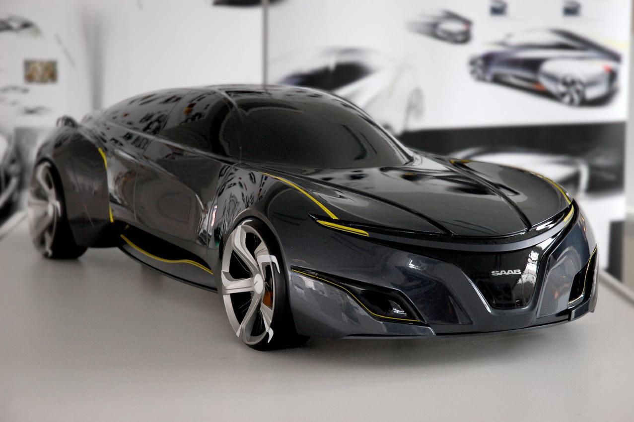 2025 Saab Sports Sedan Concept