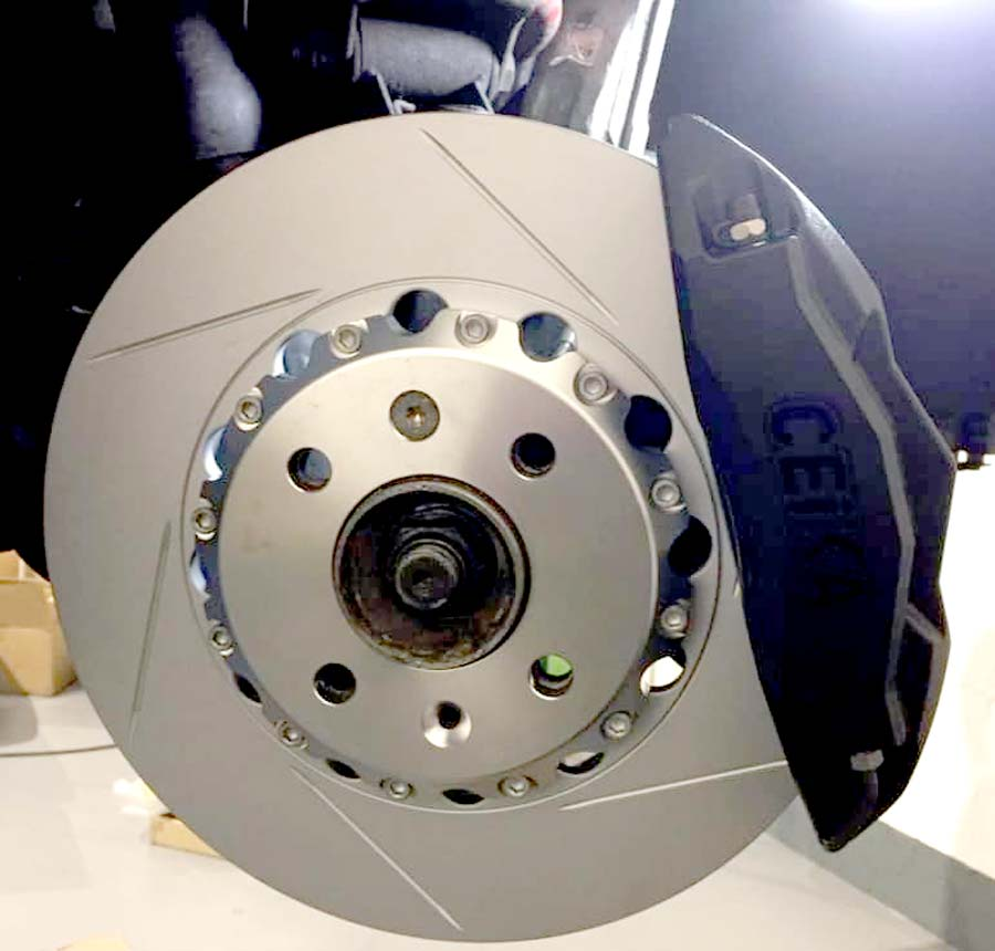 Saab 300mm brake kit