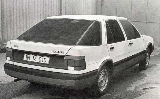 Initially called the Saab 600 GLS