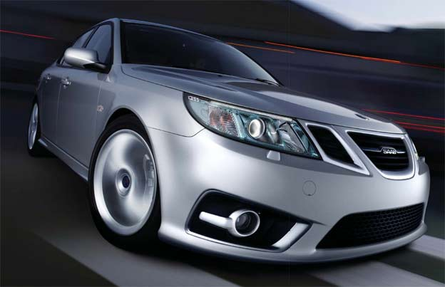 Saab 9-3 Bi-xenon cornering headlights in Real Life