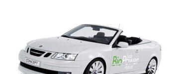 Saab 9-3 BioPower Hybrid Convertible
