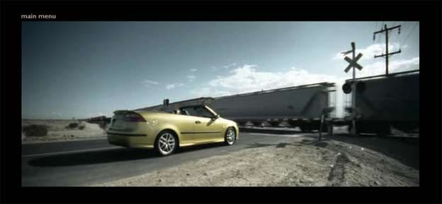 Saab 9-3 Convertible Promo Website