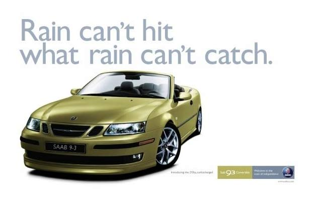 Saab 9-3 Convertible TV Commercial