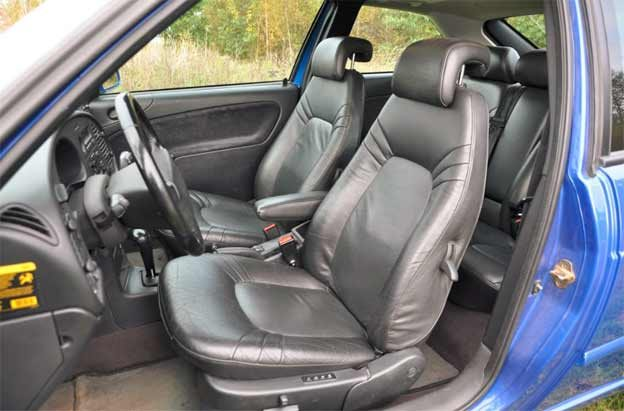Saab 9-3 Coupe Interior