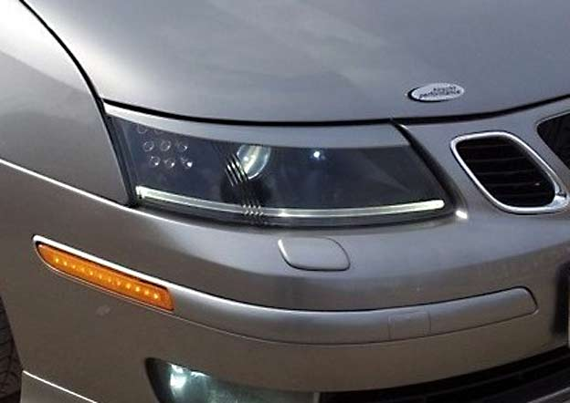 Saab 9-3 Headlight Eyebrows