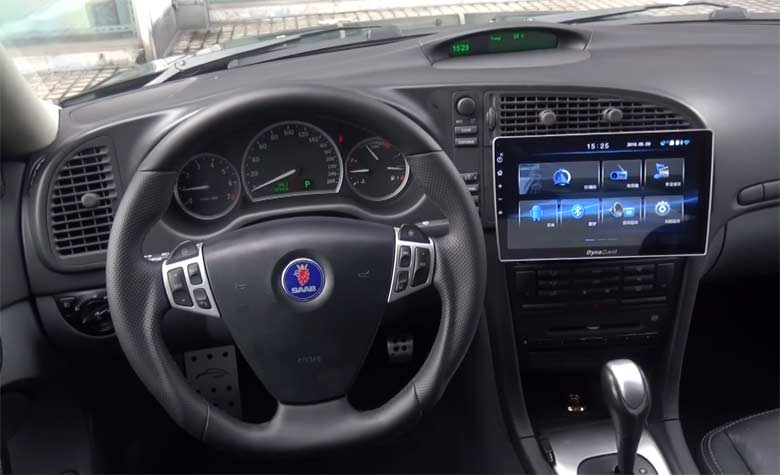Saab 9-3 new Multimedia