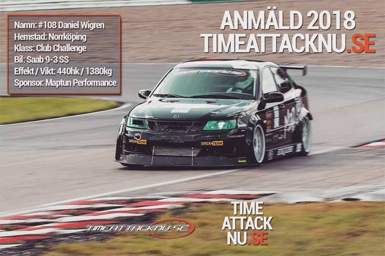 Saab 9-3 SS Time Attack NU
