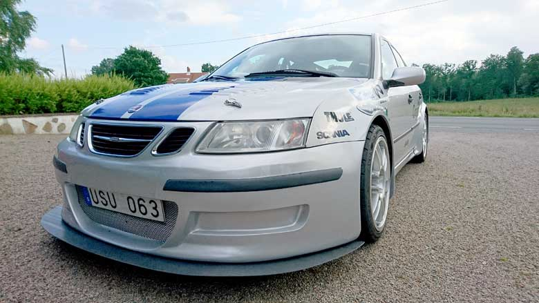 Saab 9-3 SS Diners Club Racing