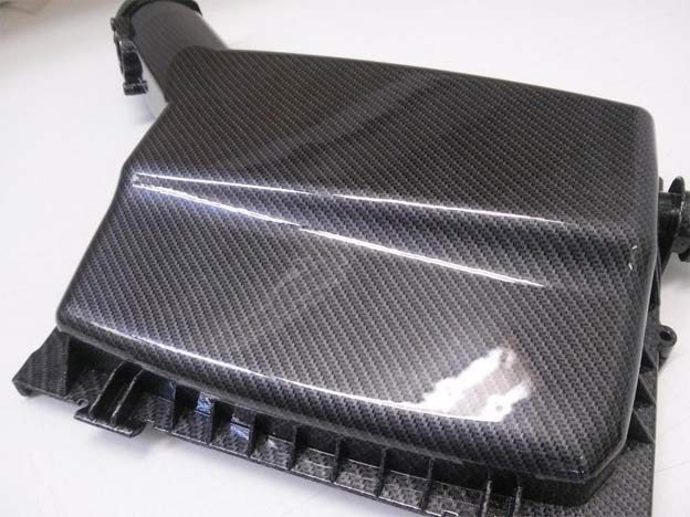 Saab 9-3SS carbon patterned air filter box top cover