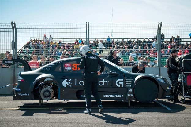 Daniel Haglöf Saab 9 3- STCC PWR Racing Team