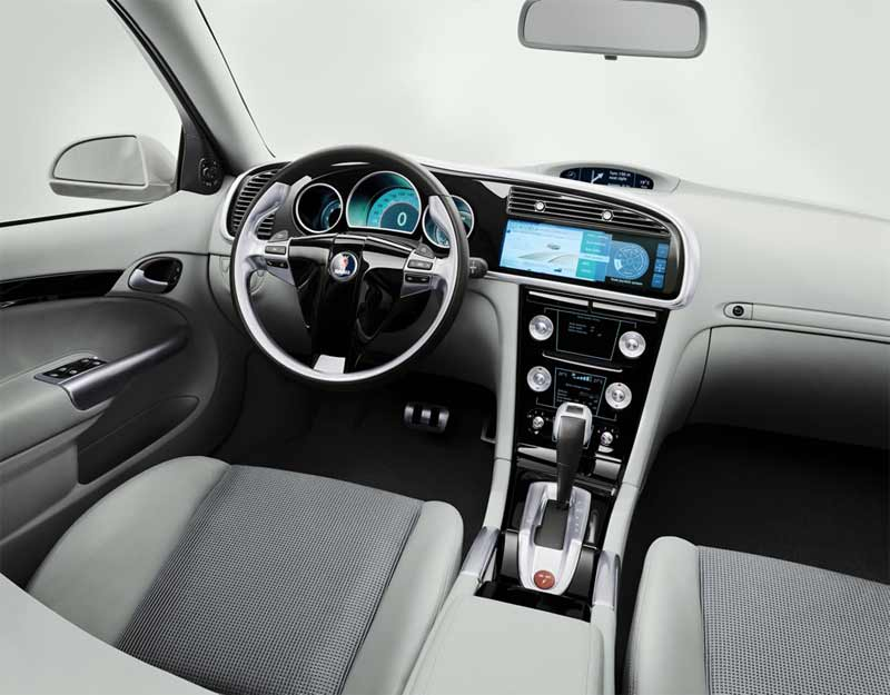 Saab 9-3 Sport-Hatch Concept interior