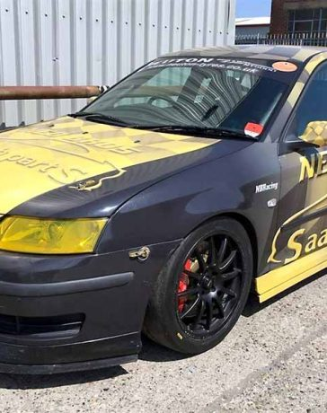 Saab 9-3 Sport Saloon Race Car