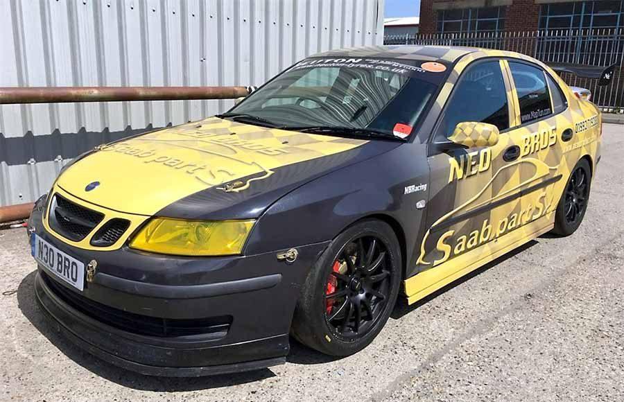 Saab 9-3 Sport Saloon Race Car