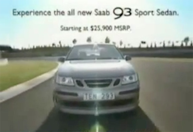 Saab 9-3 SportSedan TV Advert