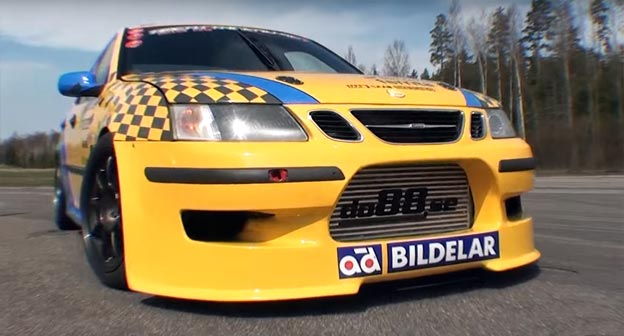 Saab 9-3 by Nordic Motorsport in TA series