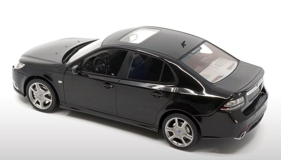 Saab 9-3 turbo x interior scale model