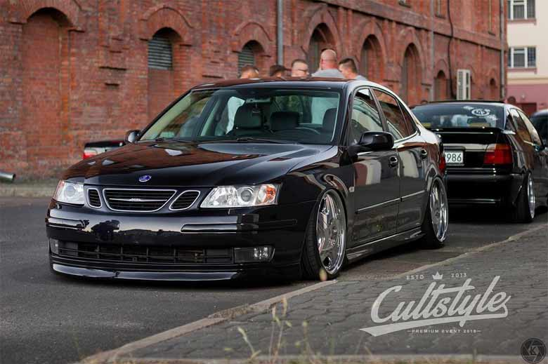 Saab 9-3 air-ride
