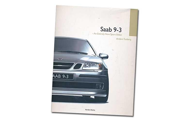 Saab 9-3 book by Anders Tunberg