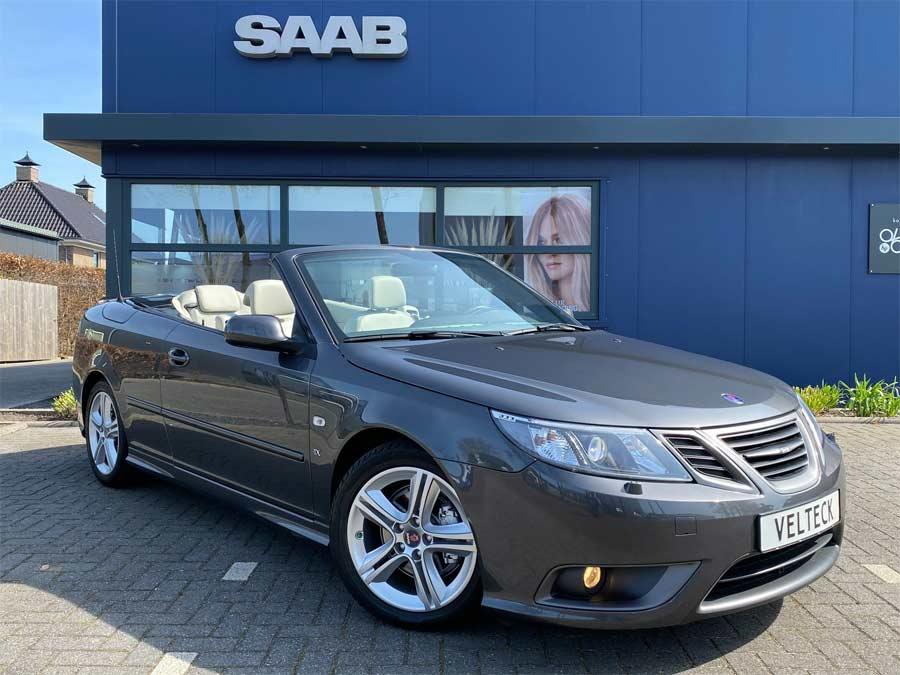 """Saab 9-3 Cabriolet 1.8t 195PK """"TX Edition"""" 93dkm Hirsch."""