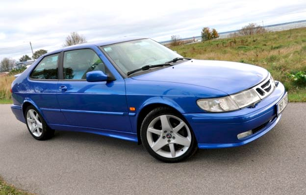 Saab 9-3 Lightning Blue Stage 2 for Special Saabers