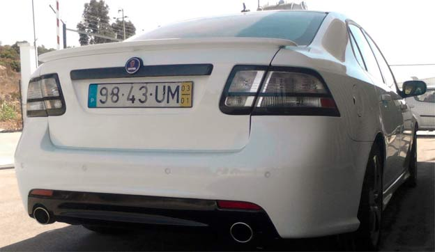 Saab 9-3 from Portugal