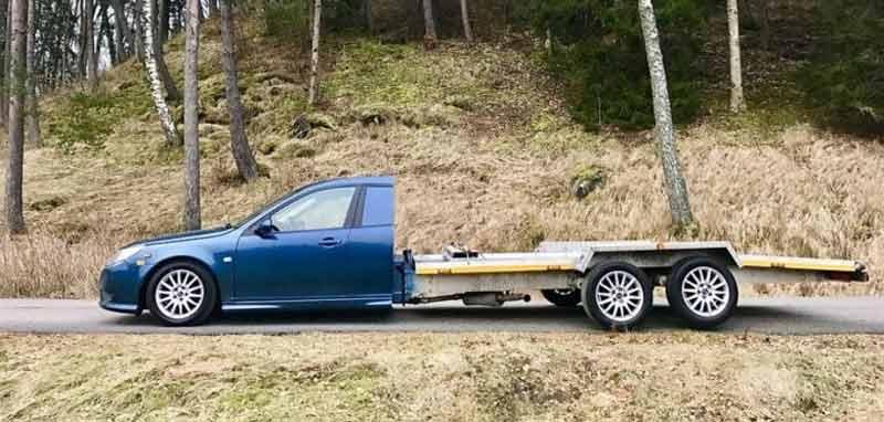 Saab 9-3 pick up version