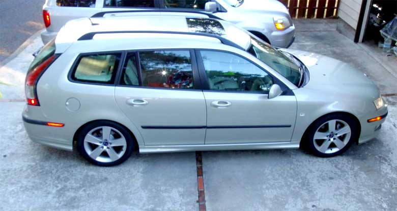 Saab 9-3 Aero sportcombi for Sale