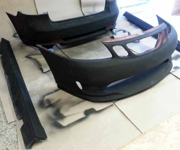 A-Zperformance bodykit for SAAB 9-3 SS (2003-2006)