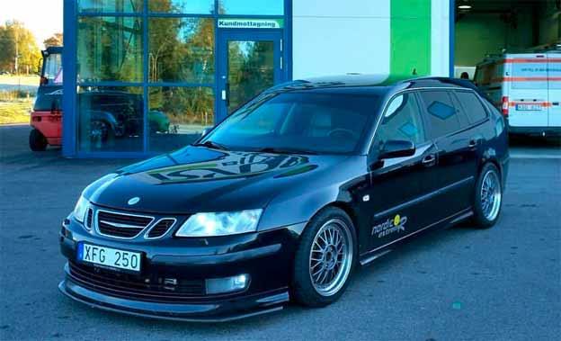 Saab 9-3SC 2.8T V6R Nordic St3