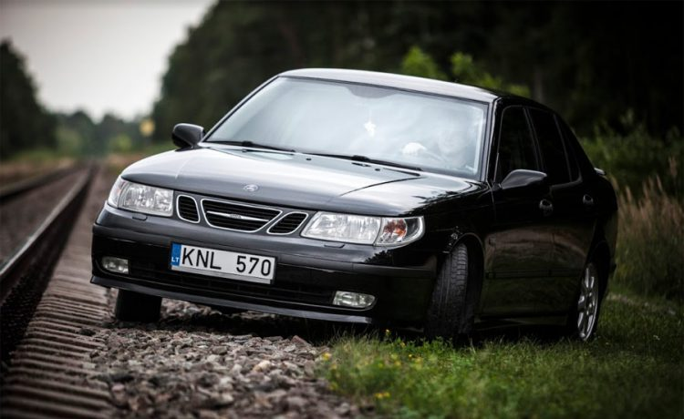 Saab 9-5 from Lithuania
