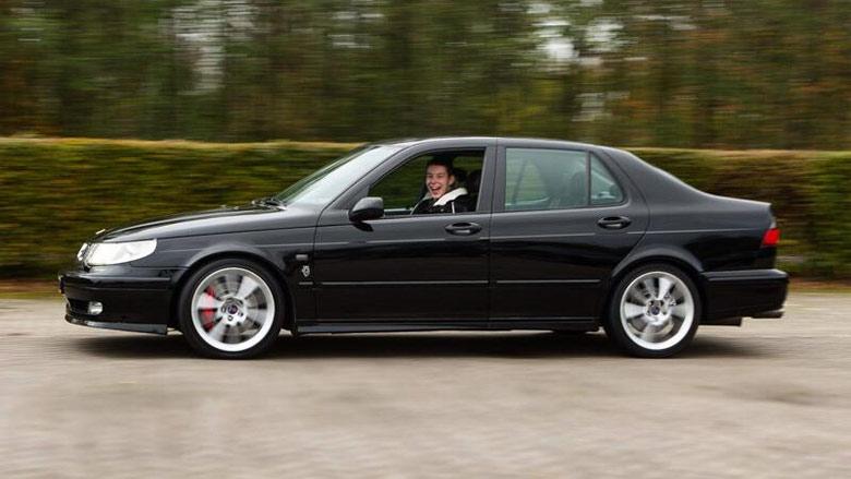 Tuned Saab 9-5