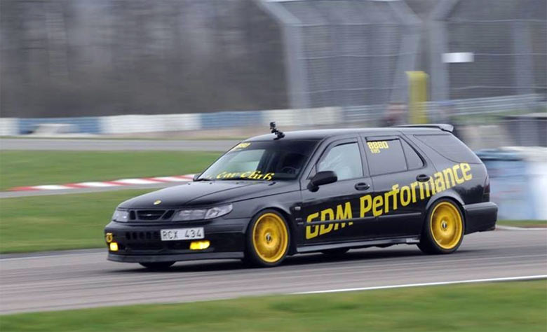"Saab 9-5 ""AeroR"" 2.3T Biopower by GDM Performance (408hp/666Nm)"